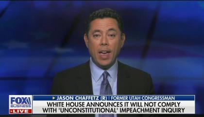 "Fox's Jason Chaffetz: ""The president and the White House are right to ignore those subpoenas"""