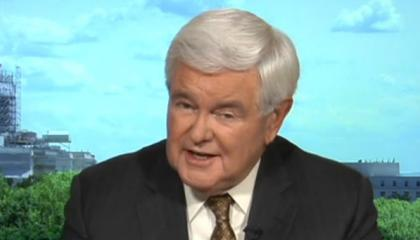 "Fox's Newt Gingrich defends impeaching Bill Clinton by claiming it ""was more than partisan politics"""