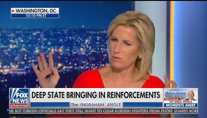 "Laura Ingraham calls impeachment ""revenge of the globalists"""