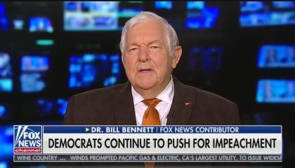 Fox News contributor Bill Bennett