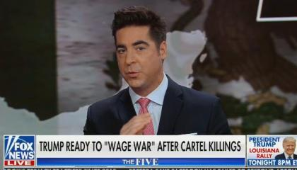"Jesse Watters on U.S. military action despite Mexico's refusal: ""Look at American history. It's what we do."""