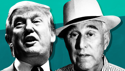 Right-wing media figures demand Donald Trump pardon Roger Stone following guilty verdict