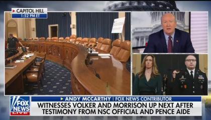Fox News contributor Andrew McCarthy