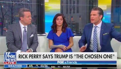 "Fox's Pete Hegseth: ""God has used imperfect people forever,"" but what Trump ""has withstood is unlike what really any other mortal could understand"""
