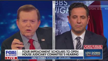Lou Dobbs Impeachment