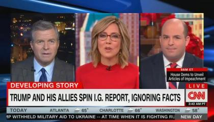 CNN details how Fox News is blatantly lying about what was found in the IG report