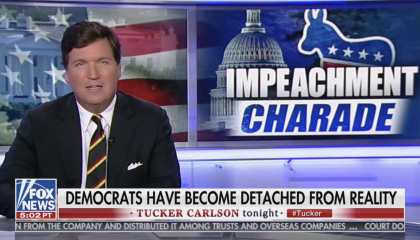 tucker carlson on impeachment