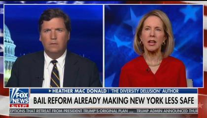 "Tucker Carlson guest: ""The criminal justice system, Tucker, is not racist"""