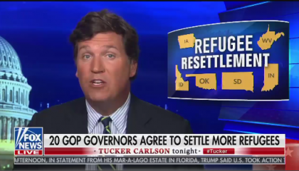 Tucker on  Refugee Resettlement