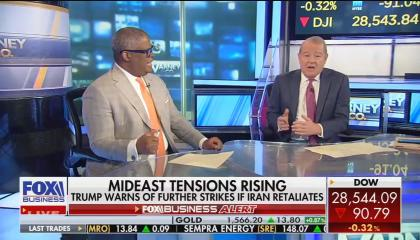 Fox Business hosts Charles Payne and Stuart Varney