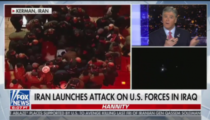 Hannity discussing Iran air strikes