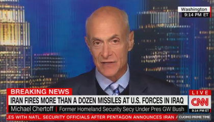 CNN fails to disclose former Bush official talking about Iran works for defense contractor