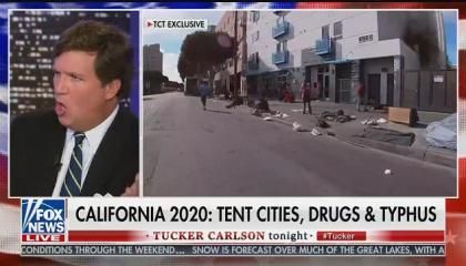"Tucker Carlson says rising housing costs are ""100 percent an immigration problem"""