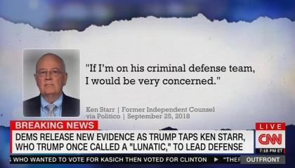 "CNN's Erin Burnett: White House impeachment legal team is ""straight from the studios of Trump's favorite TV channel"""