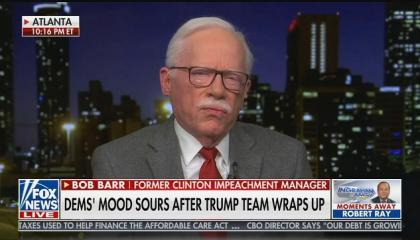 "Fox guest: Impeachment is a Democratic plot to destroy Donald Trump's ""credibility"""