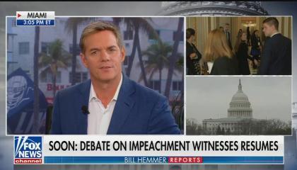 Bill Hemmer impeachment witnesses