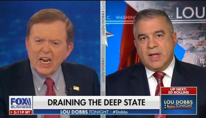 "Lou Dobbs: Bill Barr ""works for the president of the United States. He works for the American people, he's not independent by any measure"""