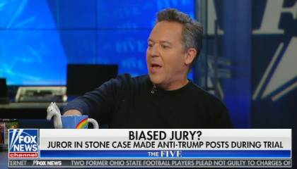 "Greg Gutfeld says the President can ""do whatever he wants"""