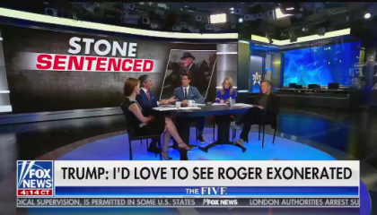 Geraldo Rivera on Roger Stone sentence