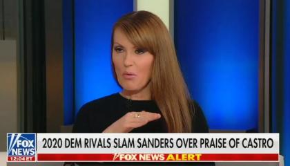 "Fox host says it's ""pretty clear"" that Bernie Sanders supports ""firing squads, dungeons, torture, and exile"""