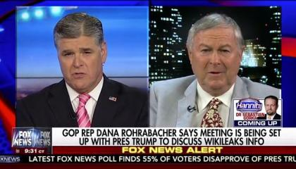 Hannity and rohrabacher