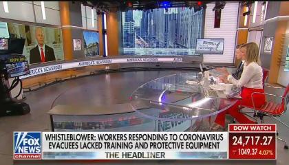 Fox News anchor Sandra Smith asks Senator Rick Scott about coronavirus speculation