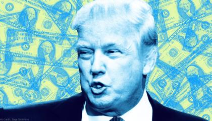 Trump generic money image