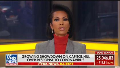 Harris Faulkner on politicizing coronavirus