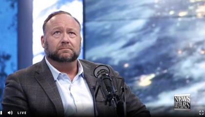 Alex Jones admits beating people to death