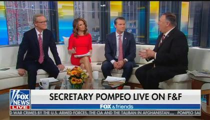 Mike Pompeo on Fox & Friends
