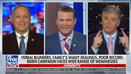 Hannity praises Fox host Pete Hegseth for convincing Trump to pardon war criminal Eddie Gallagher