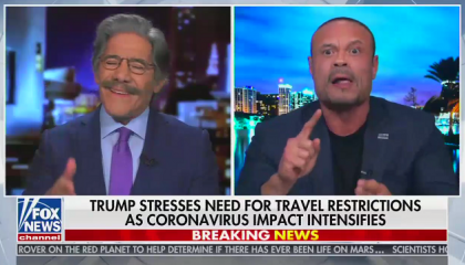 "Fox's Dan Bongino says it's ""Chinese propaganda"" to point out Stephen Miller wrote Trump's Oval Office speech"