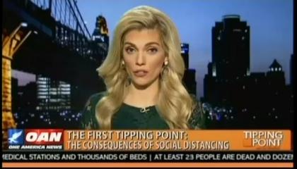 One America News host Liz Wheeler discusses COVID-19 and its effects on the U.S. economy