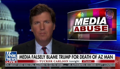 Tucker Carlson on chloroquine and aquariums