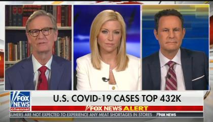 Fox & Friends Hosts COVID-19 cases