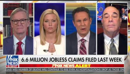"""The hosts of Fox & Friends and """"Bar Rescue"""" discussing the restaurant industry and coronavirus"""