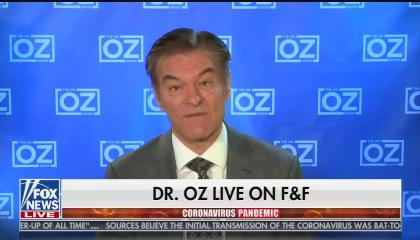 """Dr. Oz live on Fox & Friends"""