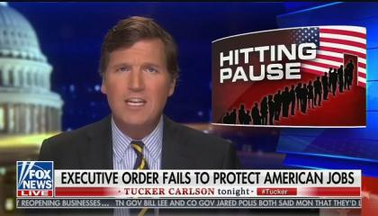 Tucker Carlson argues that Trump's immigration ban doesn't go far enough