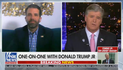 Sean Hannity interviews Donald Trump Jr.