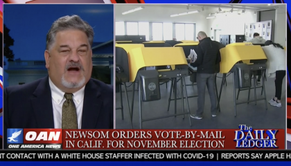 Newsweek contributing editor Peter Roff during his 5/11 OAN appearance