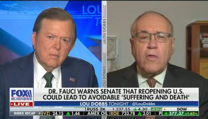 Marc Siegel says Fauci should stop contradicting what Trump says