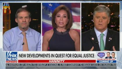 "Jeanine Pirro says Christopher Wray is part of the ""deep state"""
