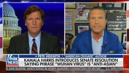 "Pete Hegseth defends saying ""Wu Flu"""
