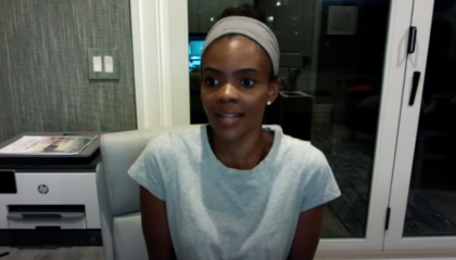 "Candace Owens says Black people need to stop acting like ""trained chimpanzees"" whenever the media pushes a story"