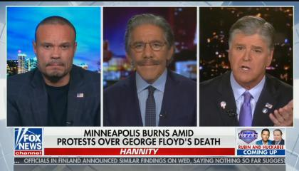 """Dan Bongino says he doesn't want to """"inject racism"""" into Floyd murder"""