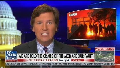 "Tucker Carlson says protests against police violence are an ""ancient battle"" between ""thugs"" and ""normal people"""