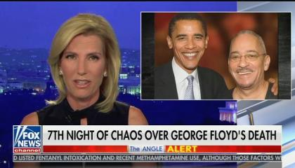 """Laura Ingraham: """"These wanton acts of violence are part of a coordinated effort to eventually overthrow the United States government"""""""