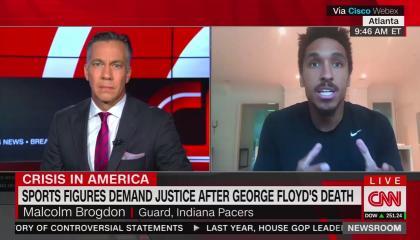 CNN's Jim Sciutto and NBA's Malcolm Brogdon