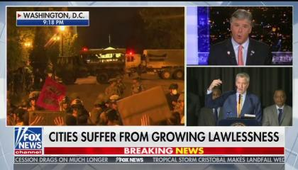 Hannity: Cities suffer from lawlessness