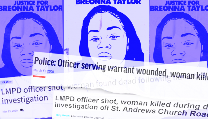 Early media coverage of Breonna Taylor